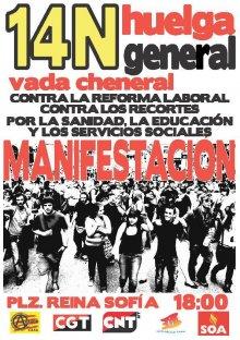 Jornada de Huelga General 14N