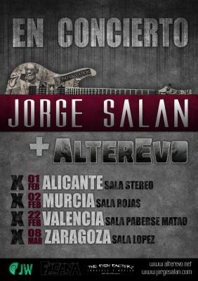 ALTEREVO + JORGE SALÁN ·· Alicante - Murcia - Valencia - Zaragoza