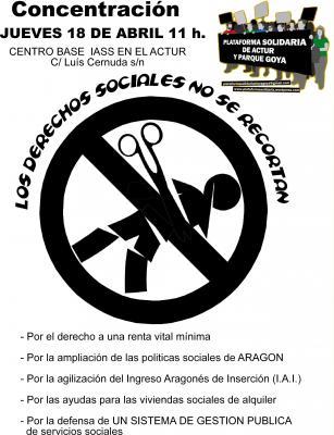 LOS DERECHOS SOCIALES NO SE RECORTAN