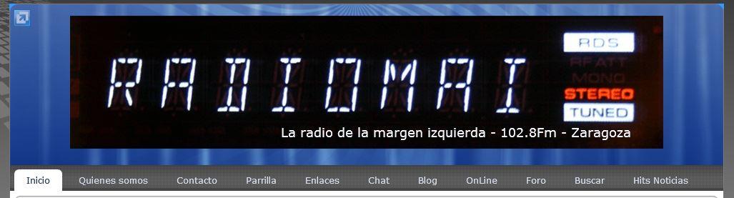 Entra en la nueva Web de radio MAI 2013 ©  www.radiomai.com