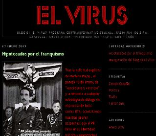 EL PROGRAMA DE ALTA POLÍTICA EL VIRUS INAUGURA SU PÁGINA WEB