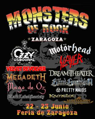 RADIO MAI EN EL FESTIVAL MONSTERS OF ROCK 2007