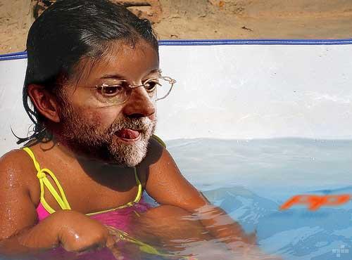 LA NIÑA DE RAJOY ESTE LUNES EN NOSOLOZARAGOZA