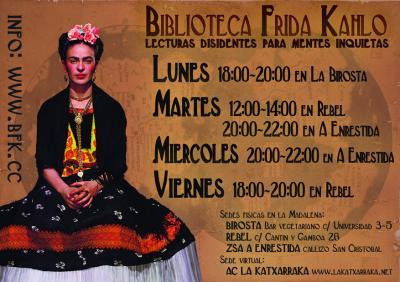 BIBLIOTECA FRIDA KAHLO - LECTURAS DISIDENTES PARA MENTES INQUIETAS