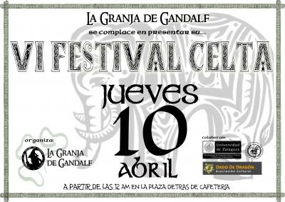 FESTIVAL CELTA 10 DE ABRIL ORGANIZADO POR LA GRANJA DE GANDALF