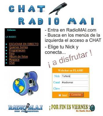 CHATEA CON LOS LOCUTORES DE RADIO MAI