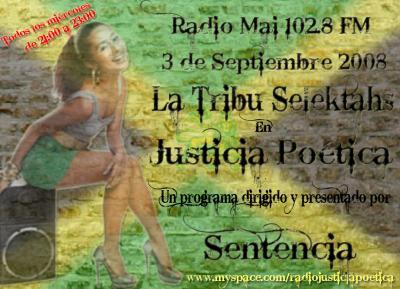 JUSTICIA POÉTICA - 3 SEPTIEMBRE 2008