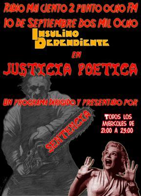 JUSTICIA POÉTICA - 10 SEPTIEMBRE 2008