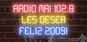 ¡ FELIZ 2009 DESDE LA RADIO DE LA MARGEN IZQUIERDA !