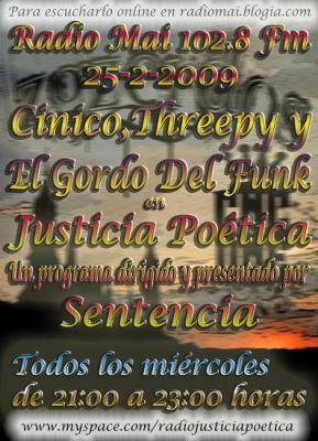 JUSTICIA POÉTICA - 25 FEBRERO 2009