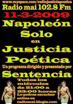 JUSTICIA POÉTICA - 11 MARZO 2009