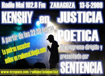 JUSTICIA POÉTICA - 13 MAYO 2009