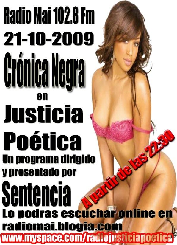 JUSTICIA POÉTICA - 21 OCTUBRE 2009