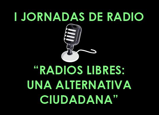 I JORNADAS DE RADIO EN ZARAGOZA