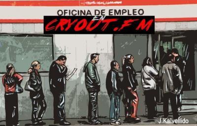 LA ASAMBLEA DE PARADOS DE ZARAGOZA  EN CRYOUT.FM