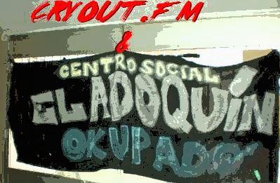 EL DESALOJO DE C.S.O EL ADOQUIN EN CRYOUT.FM