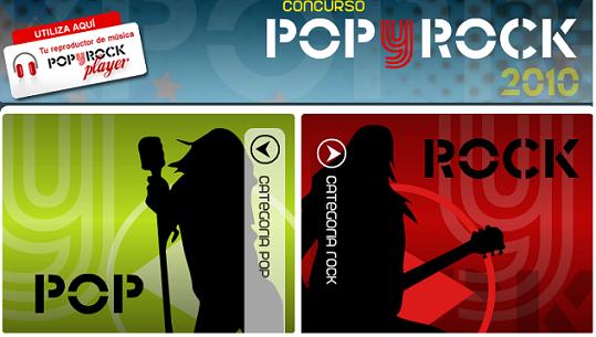 ESPECIAL POP Y ROCK 2010
