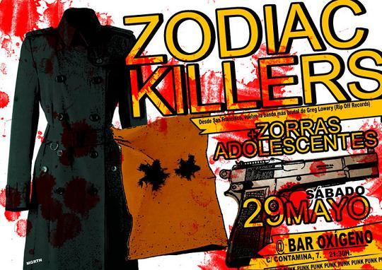 ZODIAC KILLERS + ZORRAS ADOLESCENTES EN ZARAGOZA