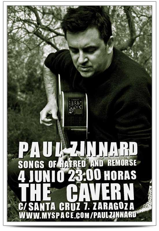 PAUL ZINNARD EN CONCIERTO EN ZARAGOZA
