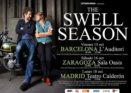THE SWELL SEASON ESTE SÁBADO EN LA SALA OASIS