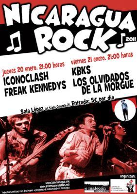 NICARAGUA ROCK 2011 EN ZARAGOZA