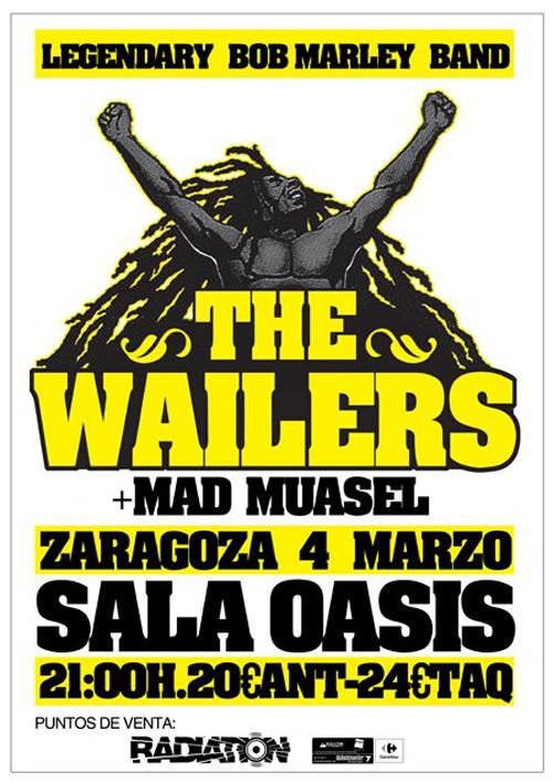 THE WAILERS EN ZARAGOZA