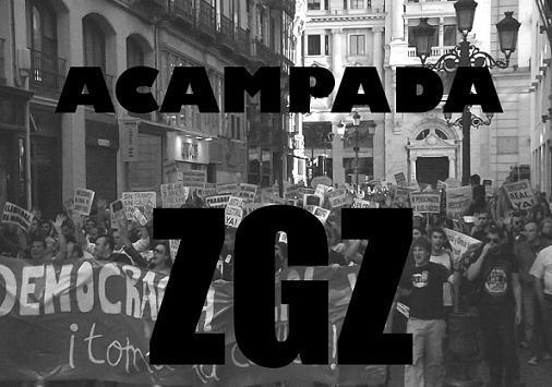 DEMOCRACIA REAL EN ZARAGOZA