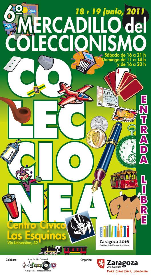 6º MERCADILLO DEL COLECCIONISMO DE ZARAGOZA