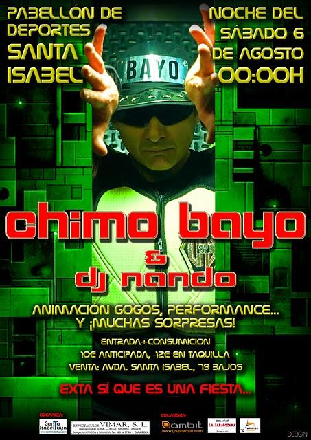 CHIMO BAYO EN ZARAGOZA