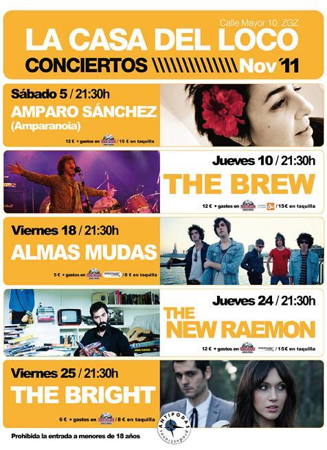 LA CASA DEL LOCO NOVIEMBRE 2011