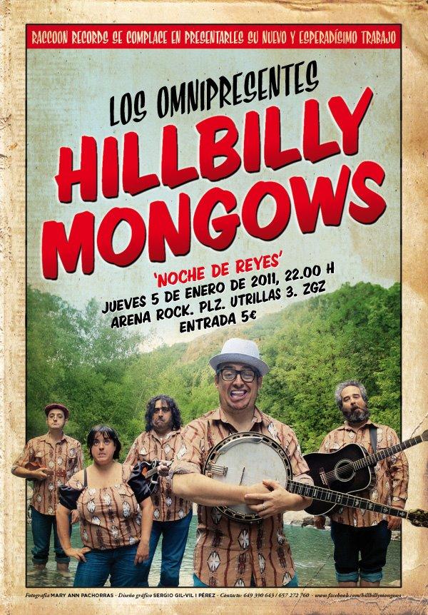 HILLBILLY MONGOWS ESTE JUEVES EN DIRECTO