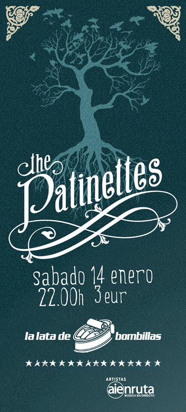 THE PATINETTES EN LA LATA DE BOMBILLAS