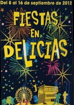 Fiestas Delicias 2012 del 8 al 16 Sep