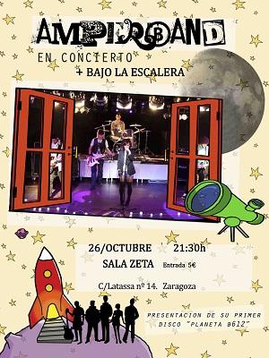 Amperband en Zaragoza este viernes  26/10/2012  ¡PorFinEsViernes!